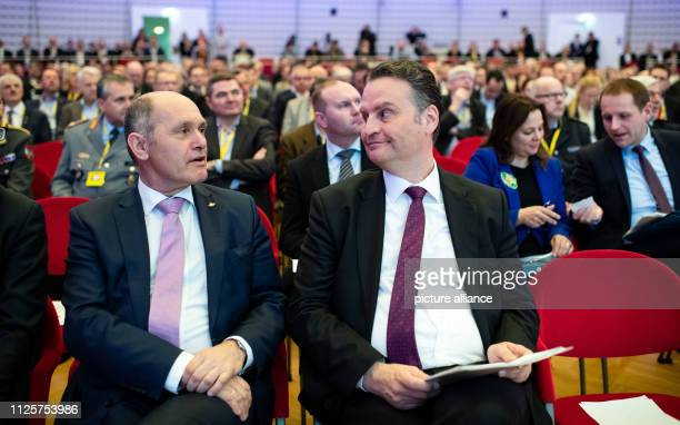 Wolfgang Sobotka President of the Austrian National Council and Günter Krings Parliamentary State Secretary in the Federal Ministry of the Interior...