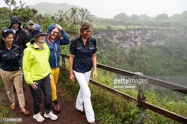 14 February 2019 Ecuador GalapagosInseln Federal President FrankWalter Steinmeier and his wife Elke Büdenbender will be guided by Heinke Jäger...