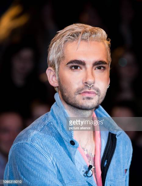 Bill Kaulitz from the band Tokio Hotel at a photo shoot after the recording of the ZDF talk show Markus Lanz Photo Christian Charisius/dpa