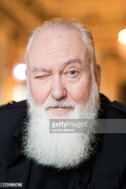 EXCLUSIVE The singer and musician Joachim Witt during an interview with the German Press Agency in the Literaturhauscafe Joachim Witt celebrates his...