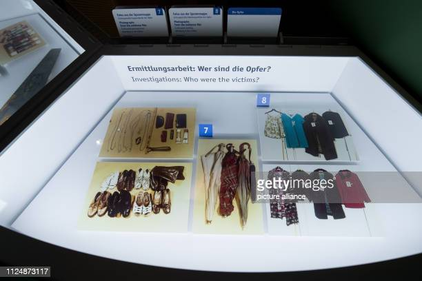 Various photos of the murderer Fritz Honka's deeds can be found in a showcase in the police museum In the police museum of the Hanseatic city some...