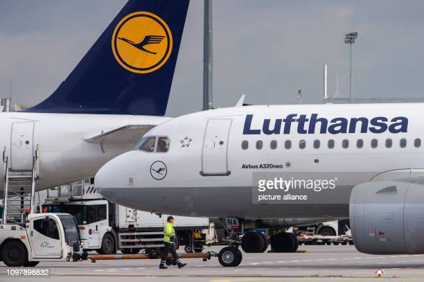 An Airbus A320 Neo of the airline Lufthansa is rolled from its parking position at Frankfurt Airport Photo Silas Stein/dpa