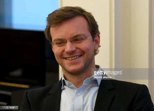 19 February 2019 Lower Saxony Braunschweig The lawyer JanEike Andresen smiles in a courtroom in the district court The Braunschweig Higher Regional...