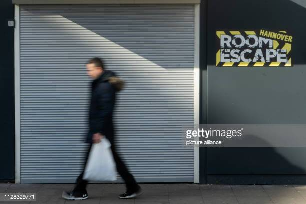 A man walks past a closed escape room Two weeks after the city had closed three socalled escape rooms the legal dispute has begun The Administrative...