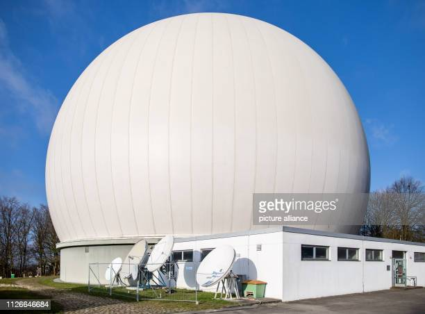19 February 2019 North RhineWestphalia Bochum The Bochum observatory with the radar dome With the commissioning of a travelling satellite the...