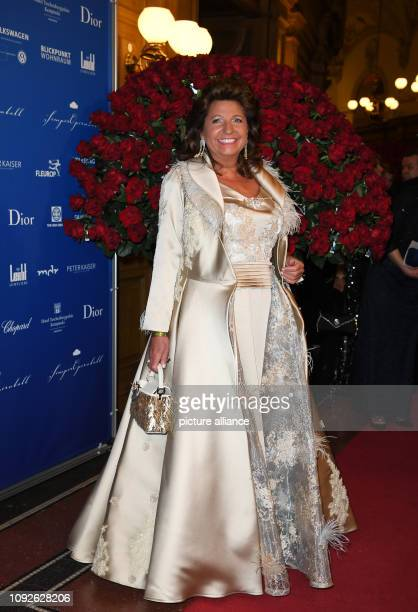 Babette Albrecht is coming to the 14th Semper Opera Ball The motto of this year's ball is Fascination Dresden dreams come true Photo Britta...