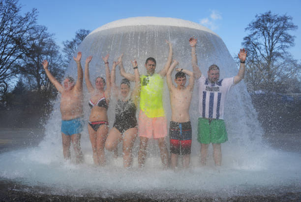 DEU: Start Of The Open-Air Bathing Season