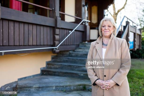 February 2020, Baden-Wuerttemberg, Waldkirch-Siensbach: Sabine Wölfle , tourism policy spokeswoman for her parliamentary group in the state...