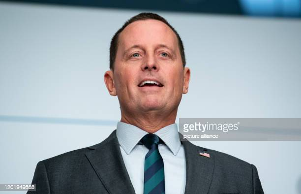 Richard Grenell Ambassador of the United States of America to Germany speaks on the first day of the 56th Munich Security Conference Grenell becomes...