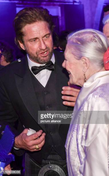 70th Berlinale Cinema for Peace Gala actor Gerard Butler and director Vanessa Redgrave The International Film Festival takes place from 2002 to Photo...