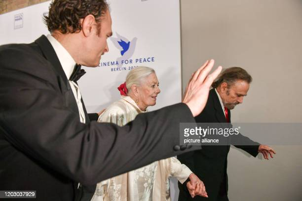 70th Berlinale Cinema for Peace Gala Carlo Gabriel Nero Vanessa Redgrave and Franco Nero The International Film Festival takes place from 2002 to...