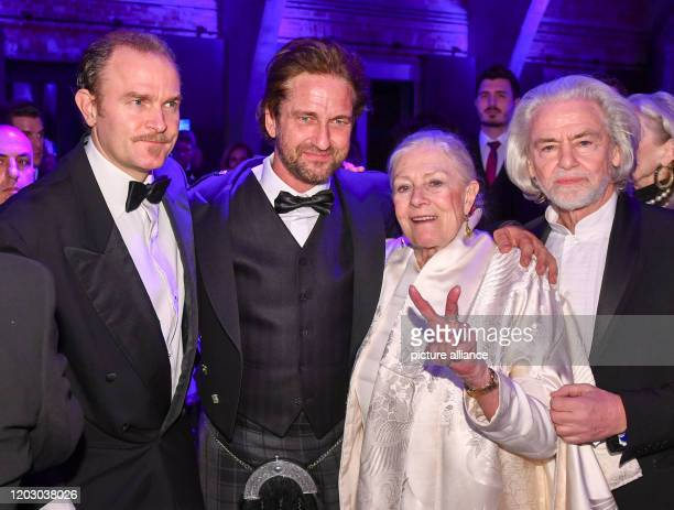 70th Berlinale Cinema for Peace Gala Carlo Gabriel Nero the son of Vanessa Redgrave and Franco Nero actor Gerard Butler director Vanessa Redgrave and...