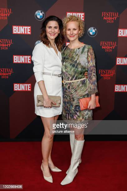 70th Berlinale Colourful New Faces Night Stefanie Henn and Ms Christina Hecke at the Colourful New Faces Night at the Italian Embassy The...