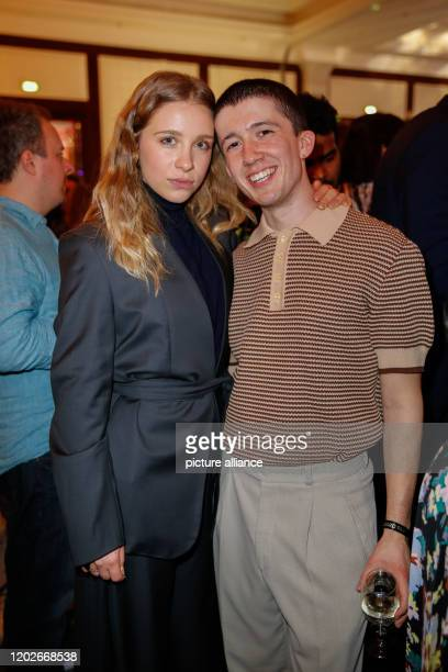 70th Berlinale Medienboard Party Anna Lena Klenke and Maximilian Mundt at the Medienboard Party in the Hotel The RitzCarlton The International Film...