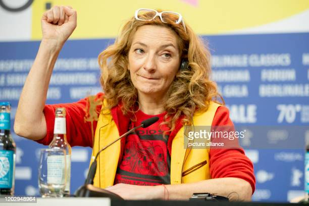 70th Berlinale press conference competition Effacer l'historique Corinne Masiero actress The International Film Festival takes place from 2002 to...