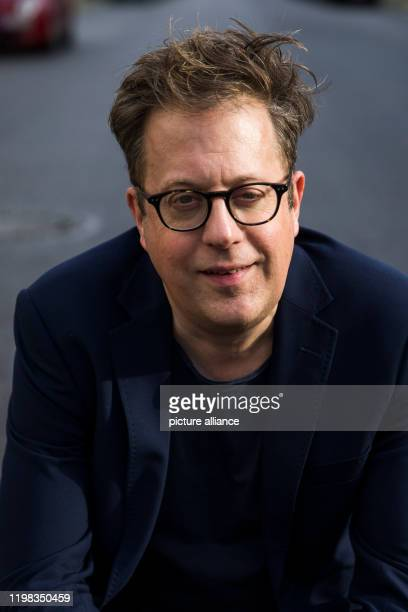 February 2020, Berlin: Thomas Laue, artistic director of the Nibelungen Festival 2020 and 2021, is sitting outside on the sidelines of a press...