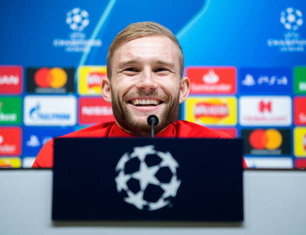 GBR: Champions League - Press Conference RB Leipzig