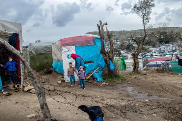 GRC: Refugee Camp On Lesbos After Riots