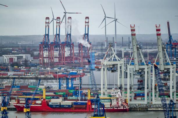 DEU: Annual Press Conference Port Of Hamburg