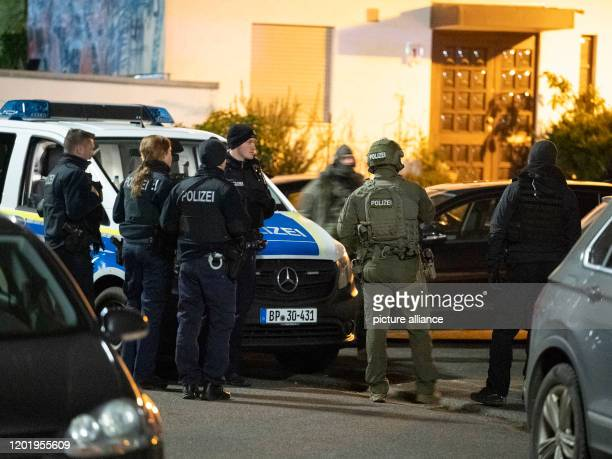 SEK officers are on duty after the fatal shooting near one of the crime scenes After the fatal shooting of nine people in Hanau the suspected...