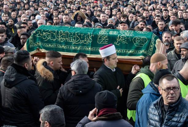 DEU: After Shots In Hanau - Burial
