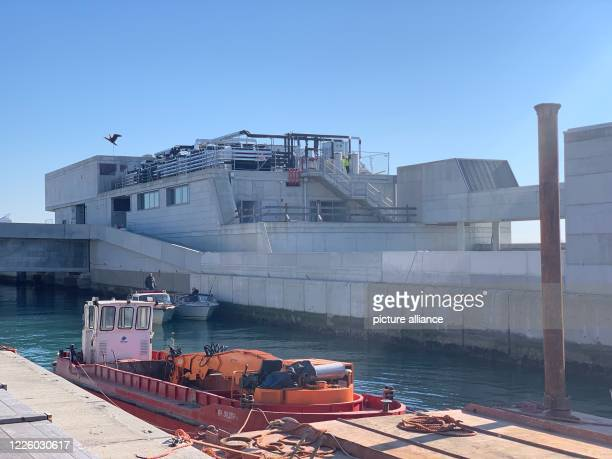 "February 2020, Italy, Venedig: In the building belonging to the flood protection system ""Mose"" is the control room of one of the locks in the lagoon...."