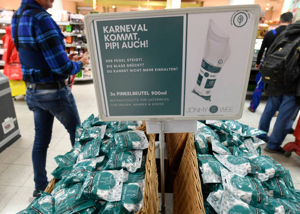DEU: Before The Carnival In Cologne - Bags Against Wild Peeing