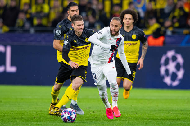 DEU: UEFA Champions League Borussia Dortmund - Paris Saint Germain