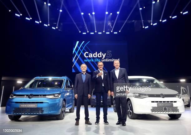 20 February 2020 North RhineWestphalia Duesseldorf Albert Kirzinger Head of Volkswagen Commercial Vehicle Design Thomas Sedran Chairman of the Board...