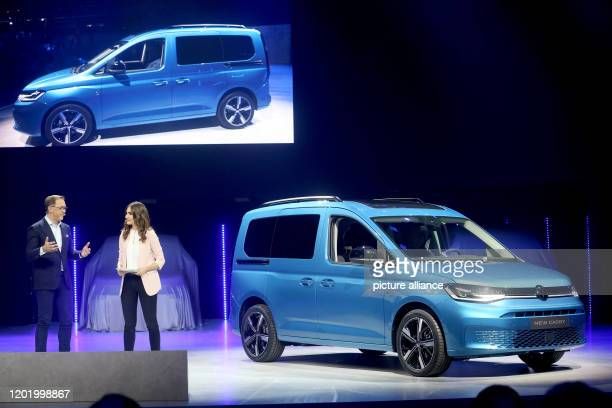 20 February 2020 North RhineWestphalia Duesseldorf Thomas Sedran CEO of Volkswagen Commercial Vehicles presents the new VW Caddy 5 Photo Roland...