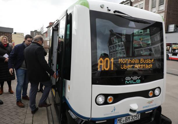 DEU: Autonomously Driving Buses In Monheim