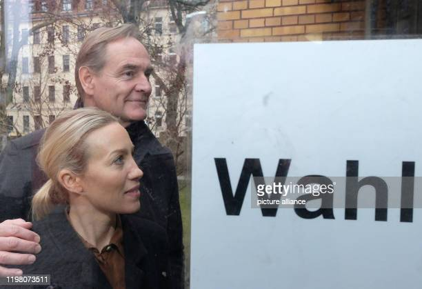 Burkhard Jung Leipzig's Lord Mayor and his wife Ayleena Jung enter a polling station The people of Leipzig will elect their new city leader on The...