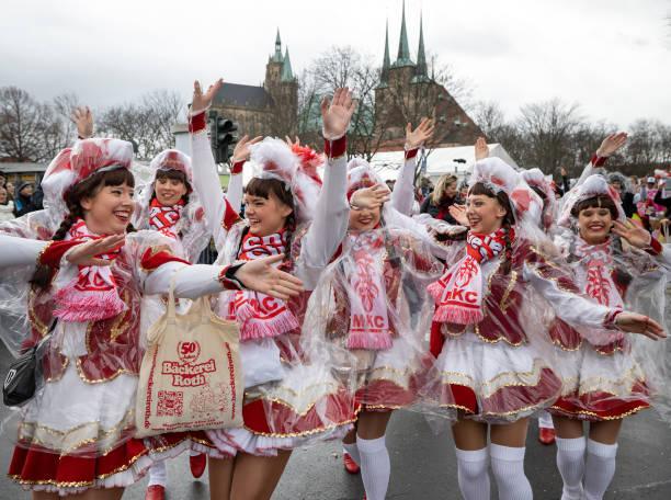 DEU: Carnival Parades In Erfurt And Cottbus