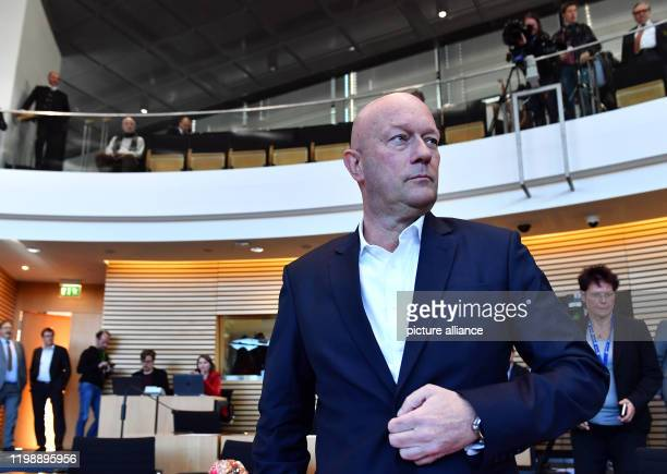 Thomas Kemmerich Thuringia's newly elected Minister President is in the state parliament The FDP faction has named Kemmerich as a candidate before...