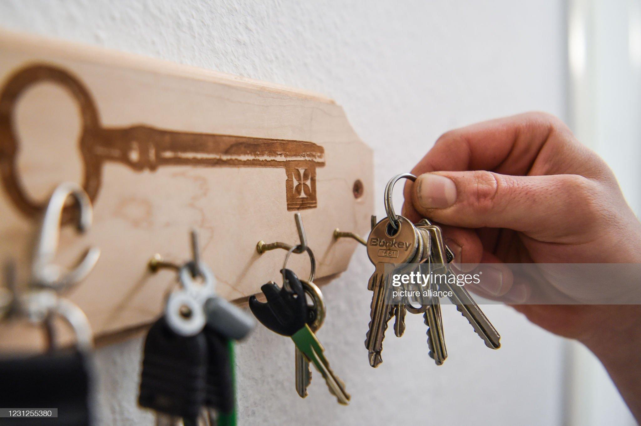 Key on the key board : Photo d'actualité