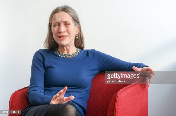 February 2021, Berlin: Mariette Rissenbeek, managing director of the Berlinale, at a press event at the Berlinale office at Potsdamer Platz. The...