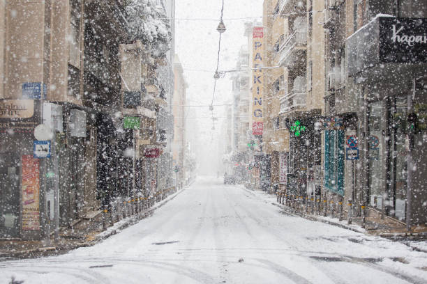 GRC: Winter Weather - Athens