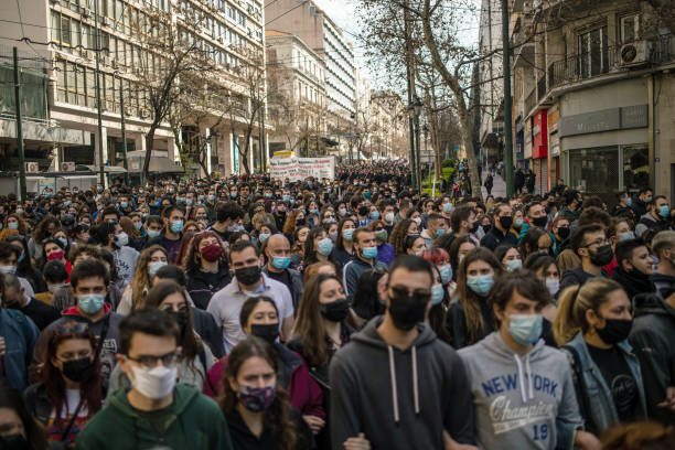 GRC: Student Protest In Athens