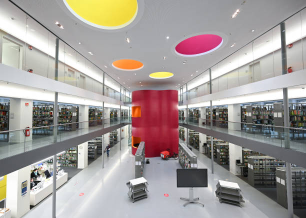 DEU: Coronavirus - Central Public Library In Frankfurt Am Main