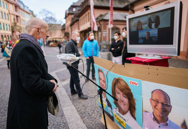 DEU: State Parliament Election Campaign At A Distance