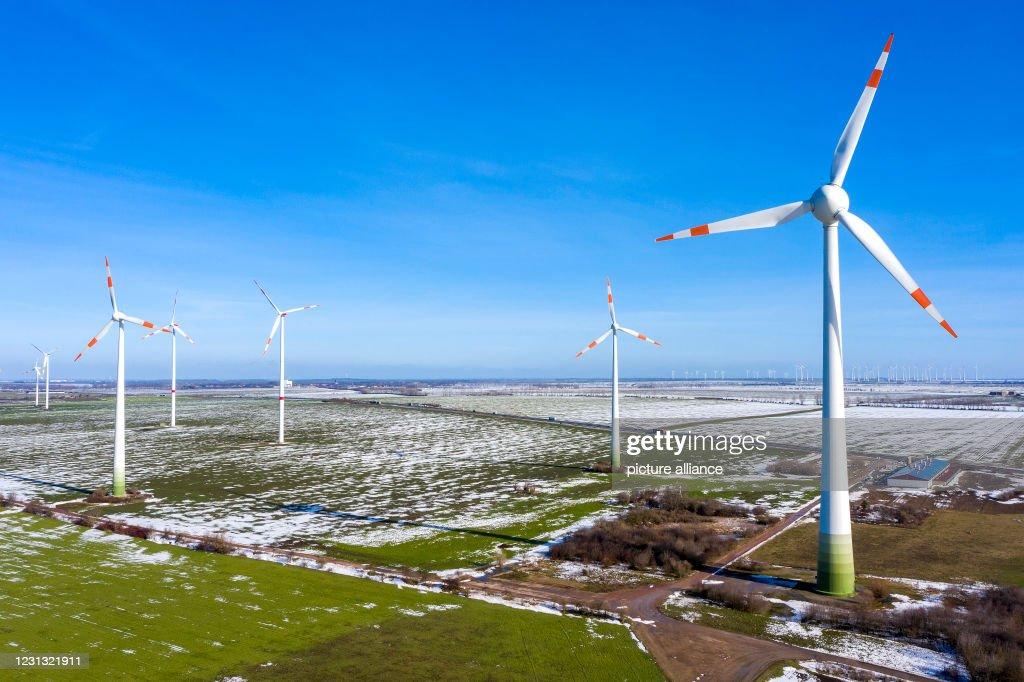 Wind turbines : News Photo
