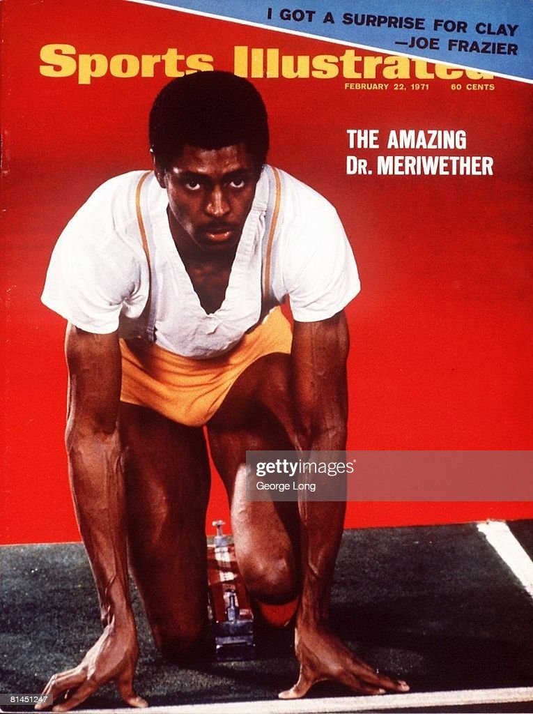 Dr. Delano Meriwether, 1971 Times Indoor Games : News Photo