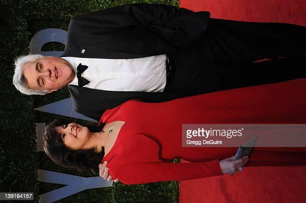 February 22 2009 West Hollywood Ca Jay Leno wife Mavis Vanity Fair Oscar Party 2009 Held at the Sunset Tower Hotel
