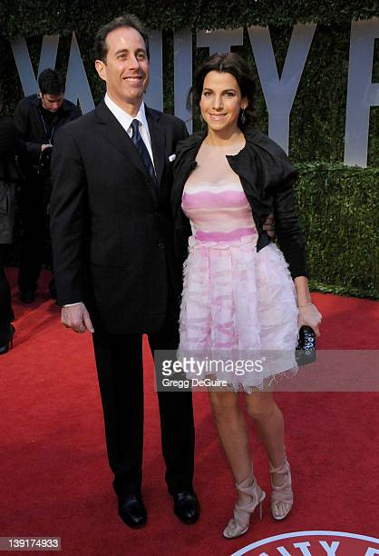 February 22 2009 West Hollywood Ca Jerry Seinfeld and wife Jessica Vanity Fair Oscar Party 2009 Held at the Sunset Tower Hotel