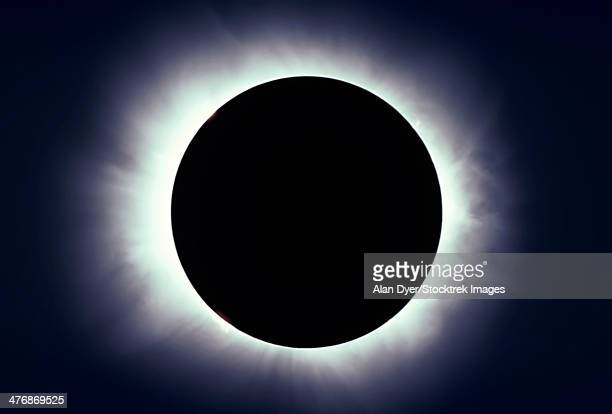 February 26, 1979 - Total solar eclipse taken near Carberry, Manitoba, Canada.