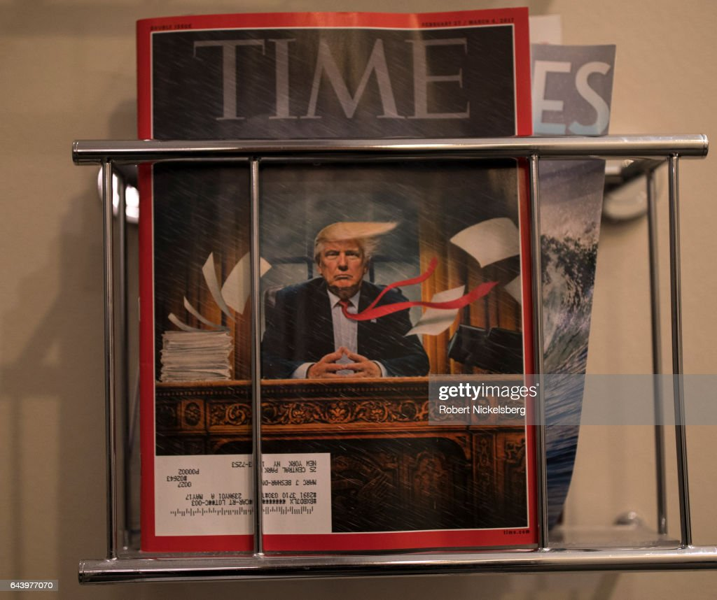 TIME Magazine's February 27, 2017 Cover : News Photo