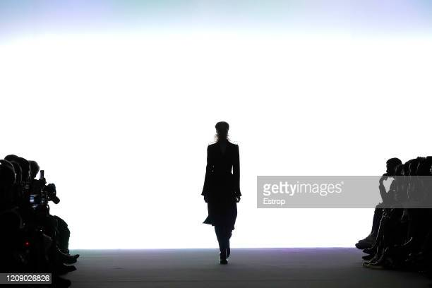 February 27: Atmosphere during the Ann Demeulemeester show as part of the Paris Fashion Week Womenswear Fall/Winter 2020/2021 on February 27, 2020 in...