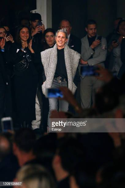 February 27: Fashion designer Isabel Marant during the Isabel Marant show as part of the Paris Fashion Week Womenswear Fall/Winter 2020/2021 on...