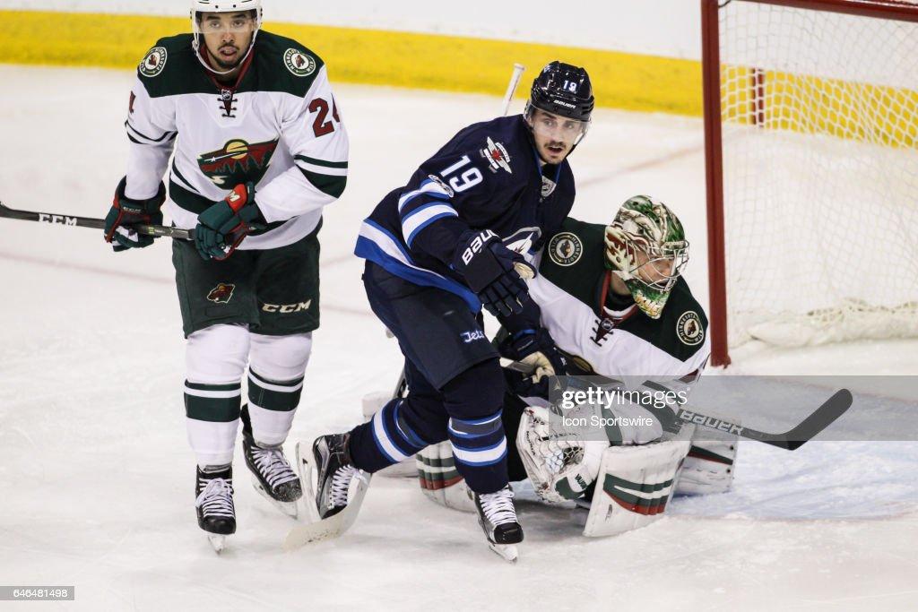 NHL: FEB 28 Wild at Jets : News Photo