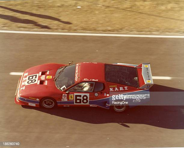 Bob Tullius JeanPierre Dalaunay and Pat Bedard drove this Ferrari 512BB in the 24 Hour Pepsi Challenge at Daytona International Speedway The car only...